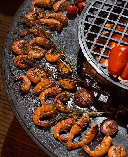 Креветки в пряном маринаде на гриле – рецепт от шеф-повара